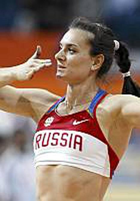 Jelena Isinbajevalta vaaditaan karsintanäyttöjä.