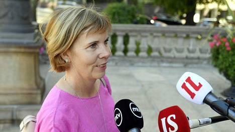 Anna-Maja Henriksson on johtanut Rkp:tä vuodesta 2016.