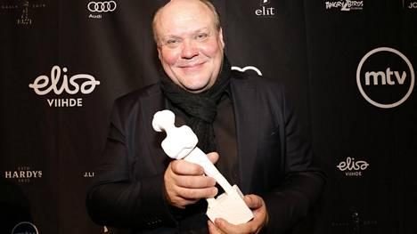 Parhaan miespääosan Jussi-palkinnon sai Hannu-Pekka Björkman.