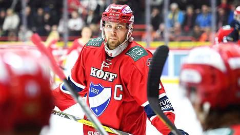 Arttu Luttinen toimi HIFK:n kapteenina vuosina 2015–2017.