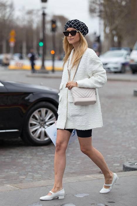 Shortsit taipuvat myös ladylike-tyyliin.