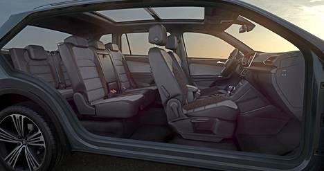 Tilaa riittää yhtä lailla Škoda Kodiaqissa..