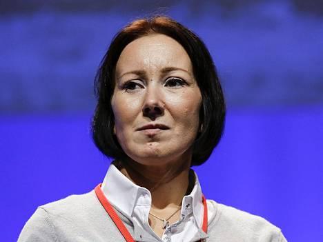 Sosiaali- ja terveysministeri Hanna Mäntylä.