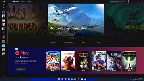 Microsoft satsaa Game Pass -tilauspalveluun pelaajille. Pelaamaan pääsee perinteisen tavan ohella Xbox-sovelluksen sisällä, jolloin pelejä pyöritetään palvelimelta käsin.