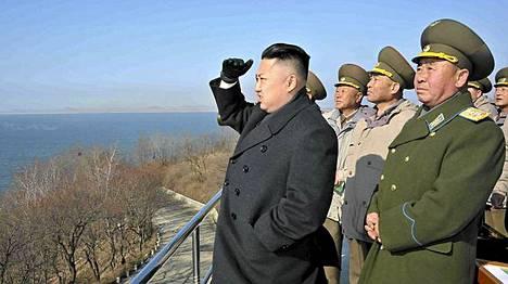 Päiväämätön handout-kuva Pohjois-Korean nykyisestä johtajasta Kim Jong-Unista.