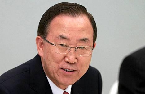 Ban Ki-moon varoitti sunnuntaina Pohjois-Korean tilanteen kärjistymisestä.