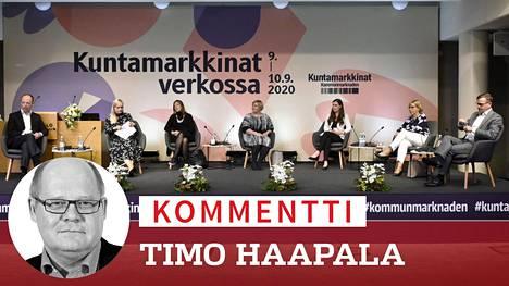 Vuoden viimeisessä Ylen gallupissa perussuomalaisten Jussi Halla-aho otti puolueelleen ykköspaikan Sdp:n Sanna Marinilta.