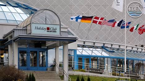 Kylpylä-hotelli Eden on ollut maamerkkinä Nallikarissa vuodesta 1989 saakka.