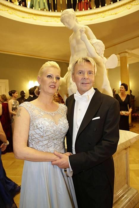 Pari Linnan juhlissa vuonna 2015.
