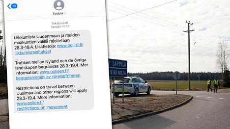 Suomalaiset saivat viestin, joka jää historiaan kertomaan vuoden 2020 synkistä hetkistä.