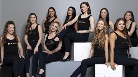 Nämä kymmenen kaunotarta kilpailevat Miss MP:n kruunusta.