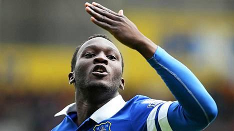 Romelu Lukaku on tehnyt kahden valioliigakautensa aikana jo yhteensä 32 maalia.
