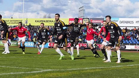 SJK ja HIFK kohtaavat tänään Helsingissä.