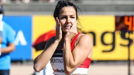 Maria Huntington voitti Suomen mestaruuden.
