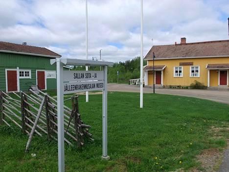 Sallan sota- ja jälleenrakennusajan museossa käy kotimaisia ja ulkomaisia vieraita.