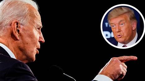 Joe Biden voitti Donald Trumpin presidentinvaaleissa.