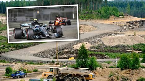 """KymiRingin F1-hanke on yhä alkutekijöissään –""""Ensi kertaa realistinen mahdollisuus Suomessa"""""""
