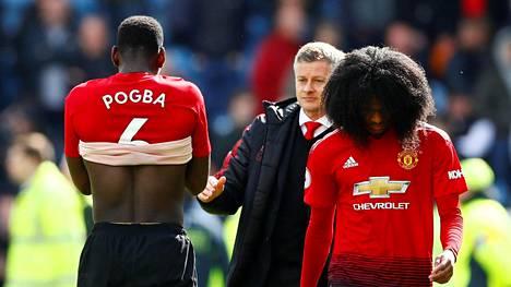 Ole-Gunnar Solskjärin luotsaama Manchester United on ulkona Mestarien liigasta.