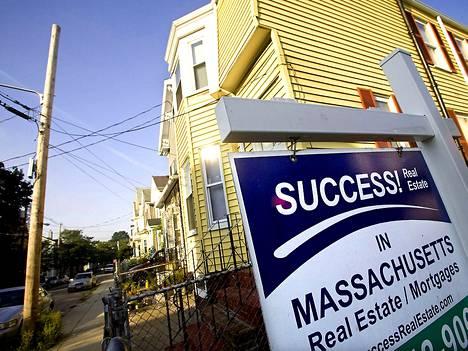 Yhdysvalloissa asuntomarkkinoiden kriisille näkyy jo hieman valoa tunnelin päässä.