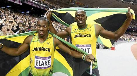 Blake ja Bolt: Yohan on kovia poikia.