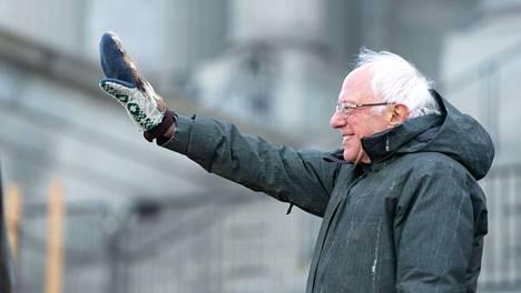 Bernie Sanders vieraili Etelä-Carolinassa tammikuussa.