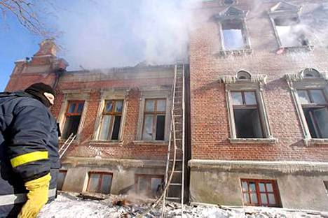Alsungan kaupungissa sijaitsevan vammaisten hoitokodin tulipalo oli yksi Latvian historian tuhoisimmista.