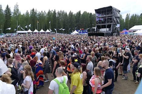 Lauantain kävijämäärä oli kaikkiaan yli 31 000.