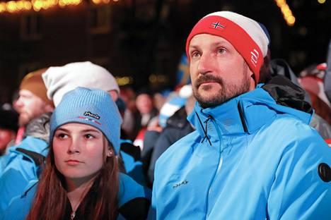 Ingrid Alexandra ja isä-Haakon