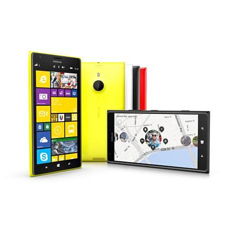 Älypuhelinten ruutukoot kasvavat. Nokian uudessa Lumia 1520 -mallissa näytön koko on jo kuusi tuumaa.