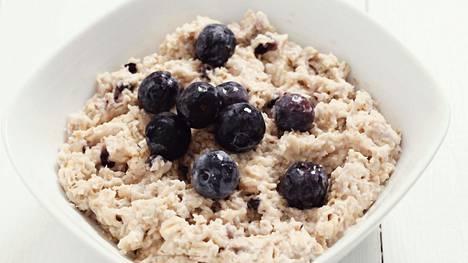 Päivittäin nautitun ruoan kuitumäärän olisi suositusten mukaan hyvä olla ainakin 25 grammaa.