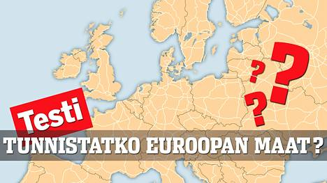 Osaatko Nimeta Kaikki Euroopan Maat Testaa Matkat Ilta Sanomat