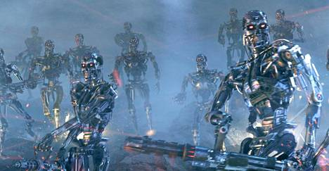 Tekoälystä ei tule Terminator-elokuvien Skynetin tapaista hirviötä, sanoo tutkija Joanna Bryson. Kuva elokuvasta Terminator 3: Koneiden kapina.
