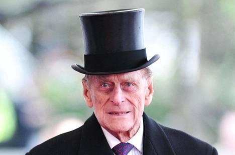 Prinssi Philip kuoli perjantaina, 99-vuotiaana, Windsorin linnassa.