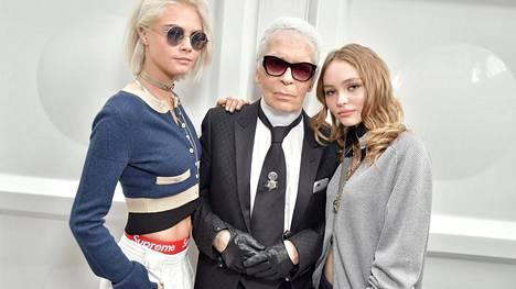 Karl Lagerfeld muistetaan myös muusistaan – 27 kuuluisaa kasvoa, jotka inspiroivat muotisuunnittelijaa
