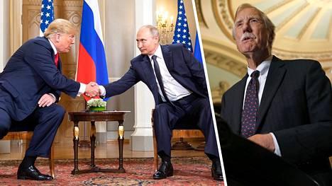 Senaattori Angus King väittää, että Putinin mikrofonit olivat läsnä Venäjän ja Yhdysvaltojen valtionmiesten tapaamisessa Presidentinlinnassa.