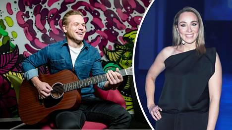 Hovimuusikko Ilkka heitti päivityksessään kuitin raskaana olevalle kumppanilleen Anni Hautalalle.