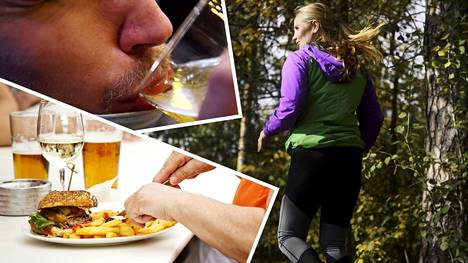 Turvottavien kesäruokien ja -juomien nautiskelun jälkeen on hyvä laittaa ruokailutottumukset kuntoon ja lähteä liikkumaan.