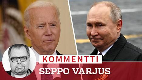Biden ei haluasi tavata Putinia, jos ei haluaisi tältä jotain. Hinta voi olla kallis.