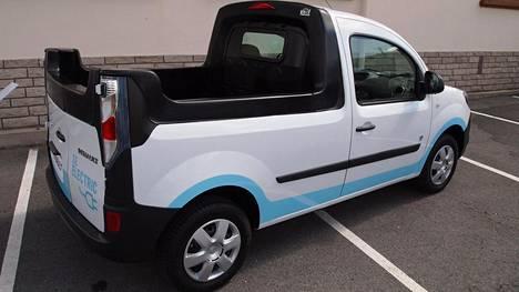 Renault Kangoo Electric näyttää tältä.
