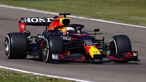 Max Verstappenin toinen harjoitussessio loppui lyhyeen.