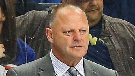 Gerard Gallant on las Vegasin NHL-joukkueen päävalmentaja.