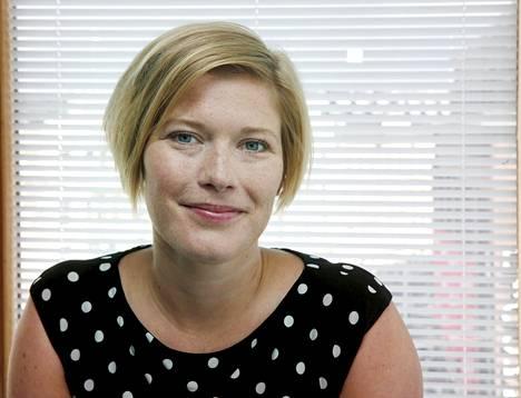Aktian pääekonomisti Heidi Schauman.