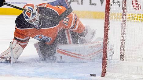 Sinne upposi! Mikko Koskisella oli vaikea ilta Montrealia vastaan.