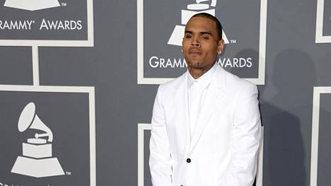 Chris Brown Grammy-gaalassa 10. helmikuuta 2013.