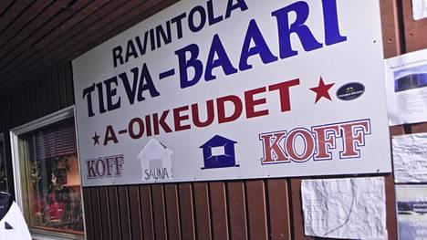 Pokan kylässä sijaitsee Tieva-baari.