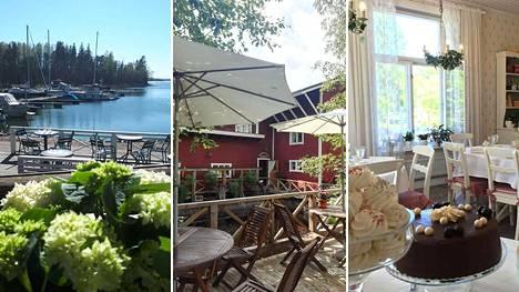 Suomesta löytyy paljon idyllisiä kahviloita.