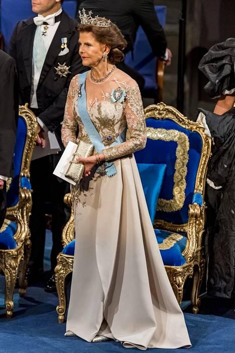 Kuningatar Silvia.