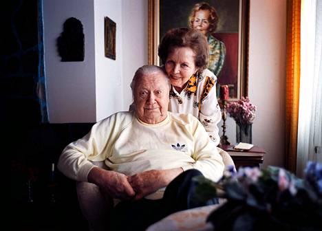 Helena Kara ja Hannu Leminen vuonna 1997.