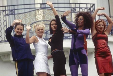 Spice Girls vuonna 1997.