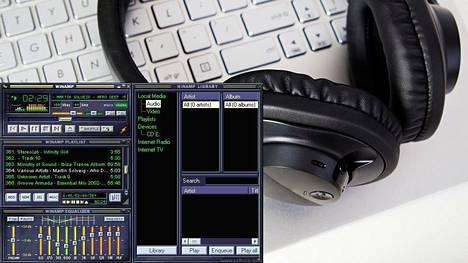 WinAmp oli suuressa suosiossa vuosituhannen vaihteen molemmin puolin.